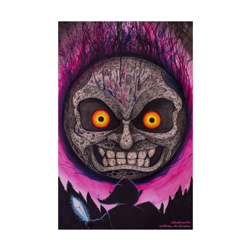 Legend Of Zelda - Majoras Mask Moon by Evolution Comics INC