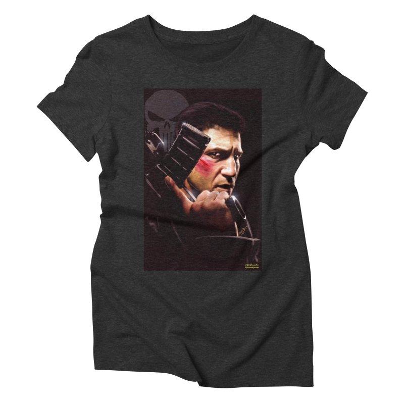Punisher Women's Triblend T-shirt by EvoComicsInc's Artist Shop