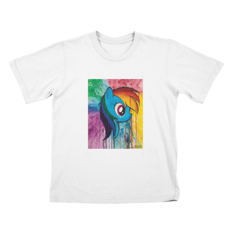 My Little Pony - Dash Kids T-Shirt by EvoComicsInc's Artist Shop