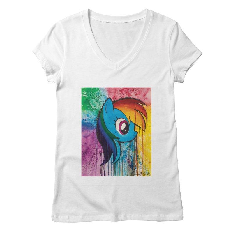 My Little Pony - Dash Women's V-Neck by EvoComicsInc's Artist Shop