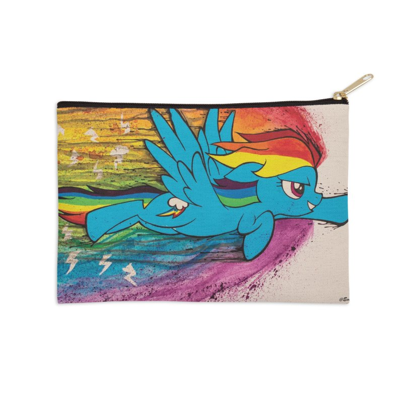 My Little Pony - Dashing Dash Accessories Zip Pouch by EvoComicsInc's Artist Shop