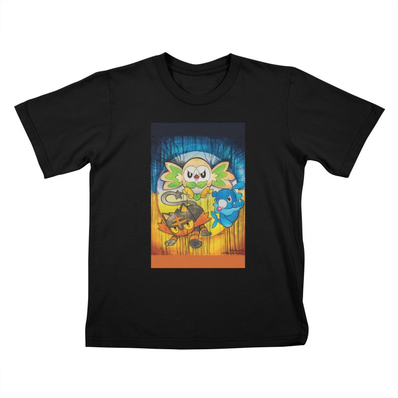 Pokemon - Sun & Moon Kids T-Shirt by EvoComicsInc's Artist Shop