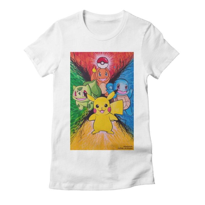 Pokemon Originals Women's Fitted T-Shirt by EvoComicsInc's Artist Shop