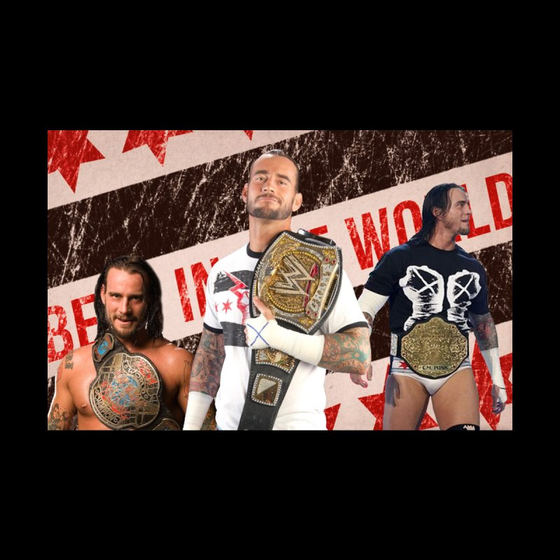 CM Punk - Best In The World Men's Pullover Hoody by Evolution Comics INC