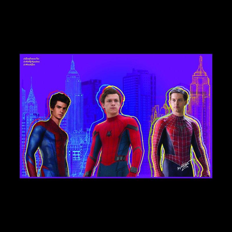 Spiderman - SpiderVerse - 3 Spidermen Men's Pullover Hoody by Evolution Comics INC