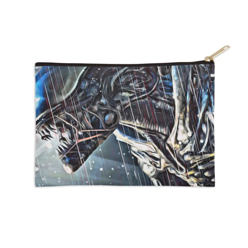 Alien Accessories Zip Pouch by EvoComicsInc's Artist Shop