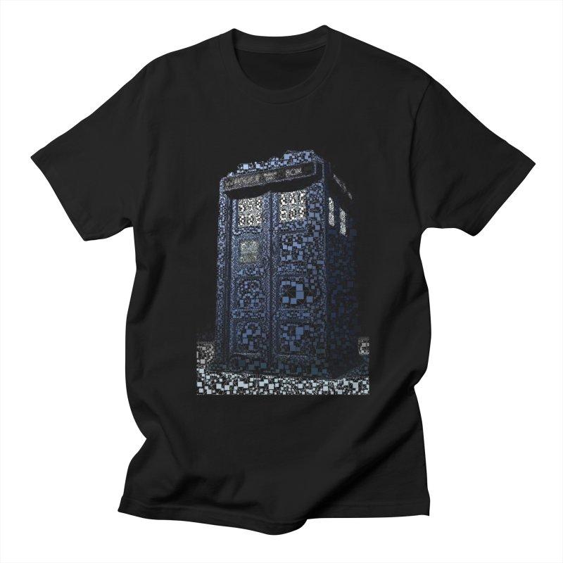 Dr. Who Tardis Women's Unisex T-Shirt by EvoComicsInc's Artist Shop