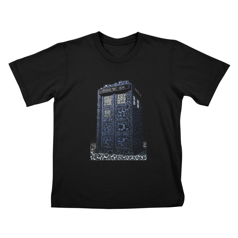 Dr. Who Tardis Kids T-Shirt by EvoComicsInc's Artist Shop
