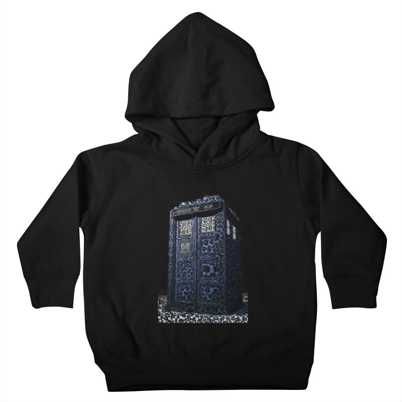 Dr. Who Tardis Kids Toddler Pullover Hoody by EvoComicsInc's Artist Shop