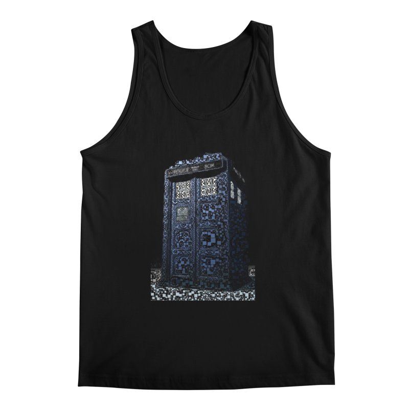 Dr. Who Tardis Men's Regular Tank by EvoComicsInc's Artist Shop