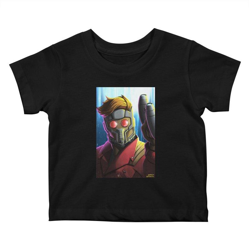 Starlord Kids Baby T-Shirt by EvoComicsInc's Artist Shop