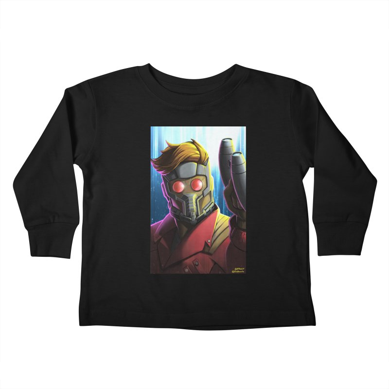 Starlord Kids Toddler Longsleeve T-Shirt by EvoComicsInc's Artist Shop