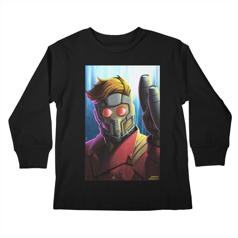 Starlord Kids Longsleeve T-Shirt by EvoComicsInc's Artist Shop