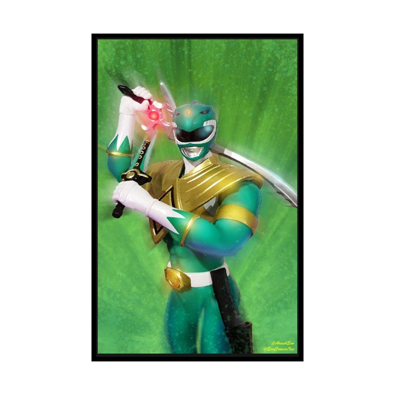 Green Ranger by EvoComicsInc's Artist Shop