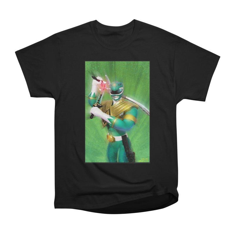 Green Ranger Women's Classic Unisex T-Shirt by EvoComicsInc's Artist Shop