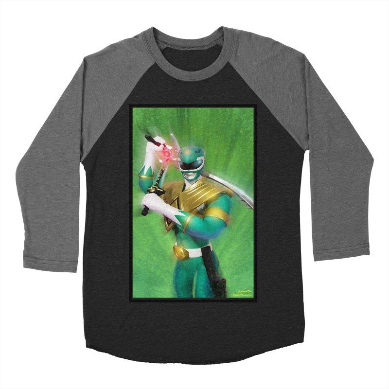 Green Ranger Women's Baseball Triblend T-Shirt by EvoComicsInc's Artist Shop