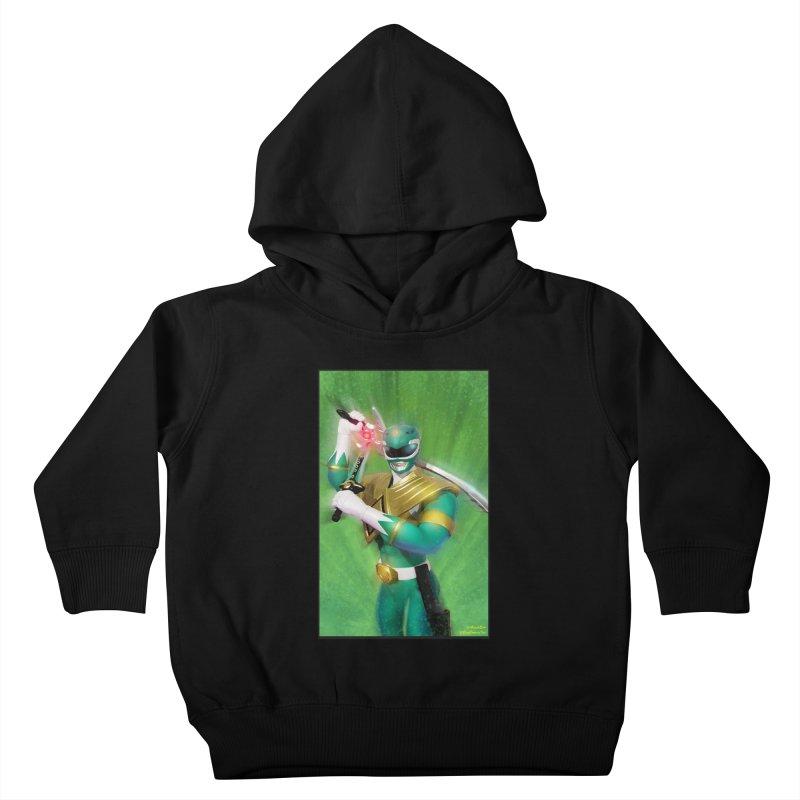 Green Ranger Kids Toddler Pullover Hoody by EvoComicsInc's Artist Shop