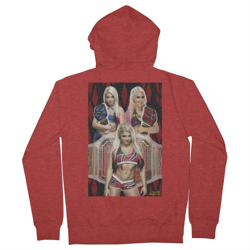 Alexa Bliss WWE Women's Zip-Up Hoody by EvoComicsInc's Artist Shop