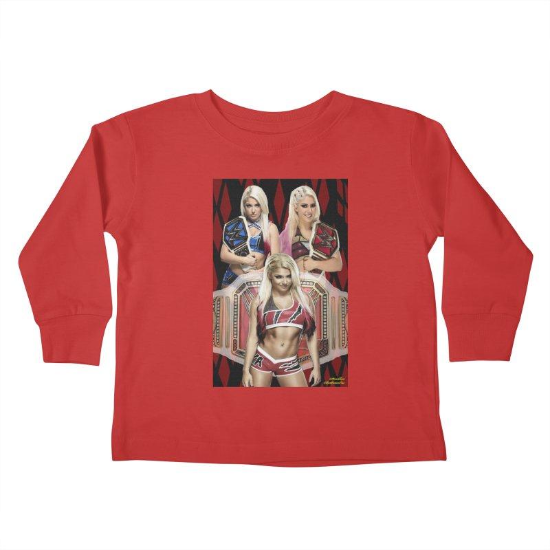 Alexa Bliss WWE Kids Toddler Longsleeve T-Shirt by EvoComicsInc's Artist Shop