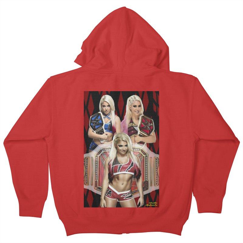 Alexa Bliss WWE Kids Zip-Up Hoody by EvoComicsInc's Artist Shop