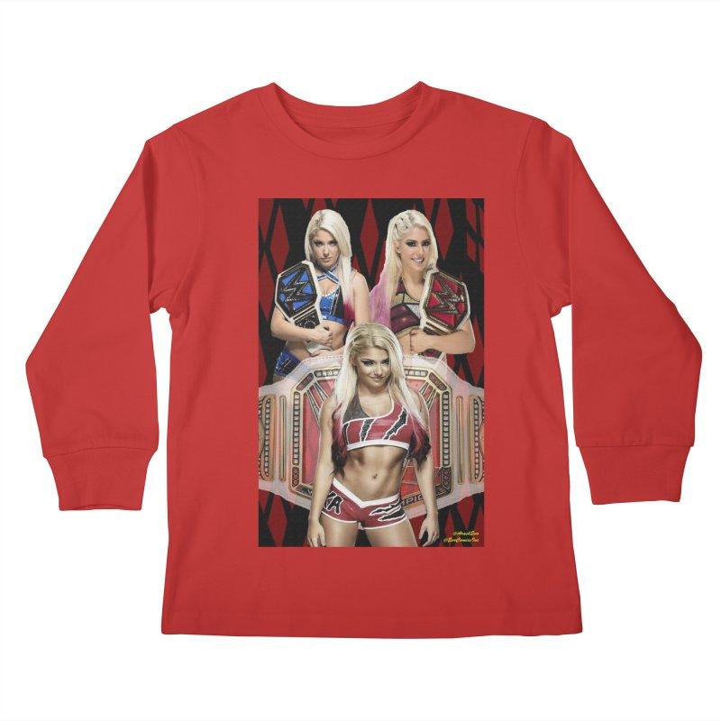 Alexa Bliss WWE Kids Longsleeve T-Shirt by EvoComicsInc's Artist Shop