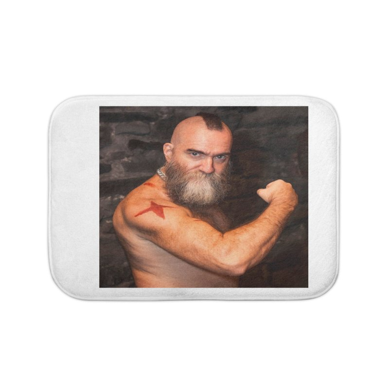 Zangief: Street Fighter, The Later Years Home Bath Mat by EvoComicsInc's Artist Shop