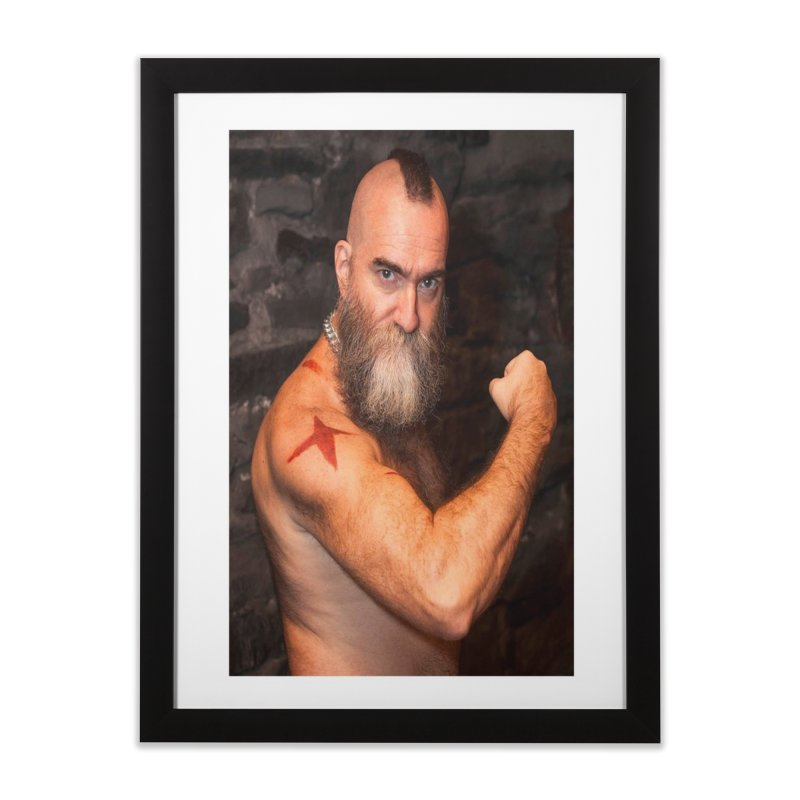 Zangief: Street Fighter, The Later Years Home Framed Fine Art Print by EvoComicsInc's Artist Shop