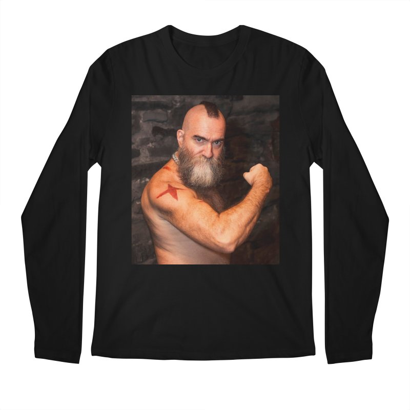 Zangief: Street Fighter, The Later Years Men's Longsleeve T-Shirt by Evolution Comics INC
