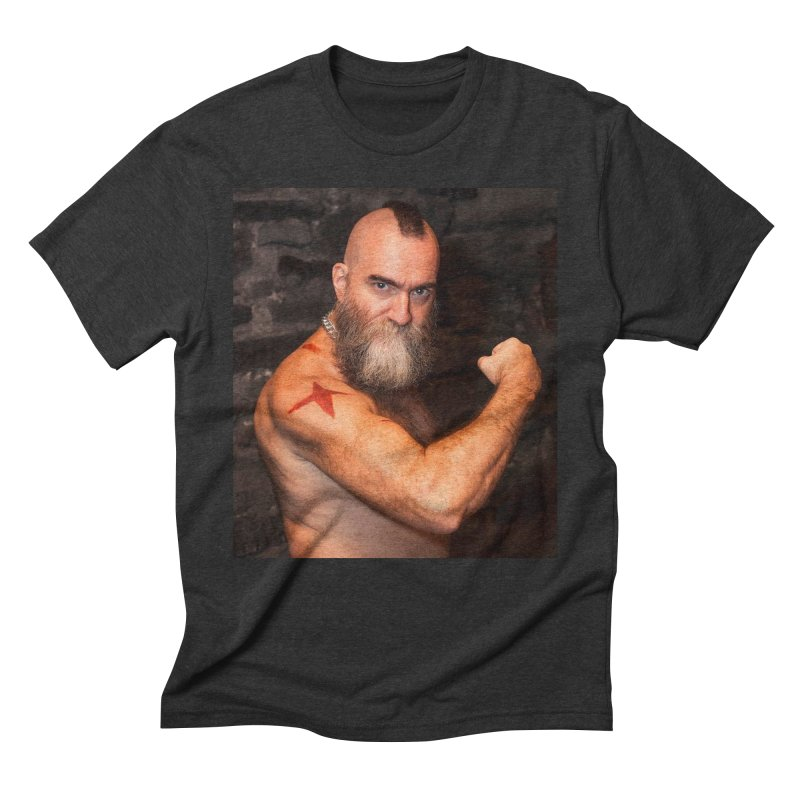 Zangief: Street Fighter, The Later Years Men's Triblend T-shirt by EvoComicsInc's Artist Shop