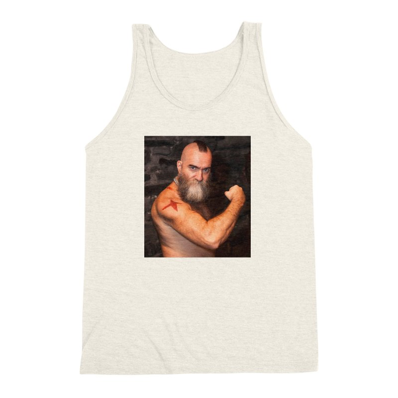 Zangief: Street Fighter, The Later Years Men's Triblend Tank by EvoComicsInc's Artist Shop