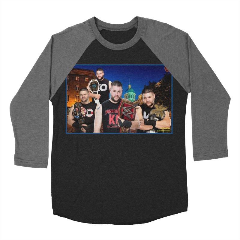 Kevin Owens Women's Baseball Triblend T-Shirt by EvoComicsInc's Artist Shop