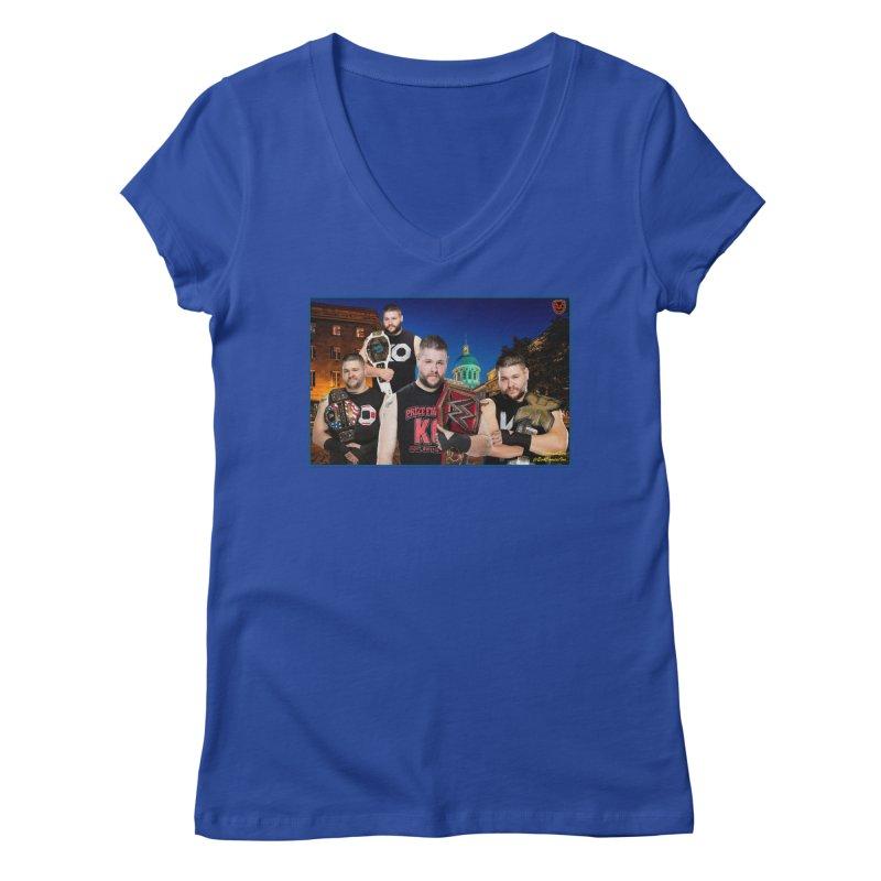 Kevin Owens Women's V-Neck by EvoComicsInc's Artist Shop