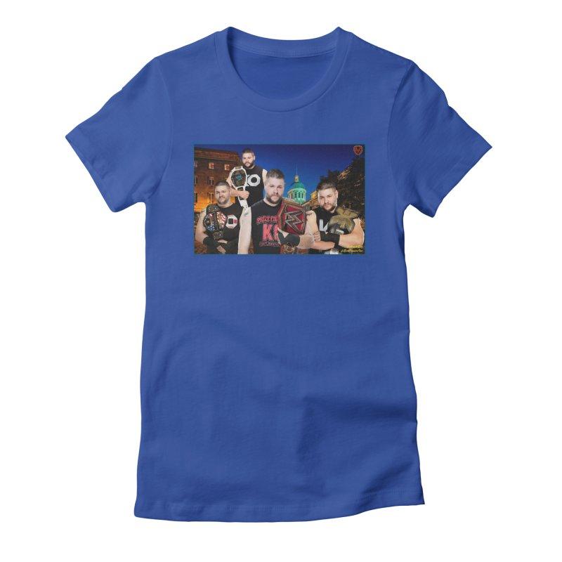 Kevin Owens Women's Fitted T-Shirt by EvoComicsInc's Artist Shop
