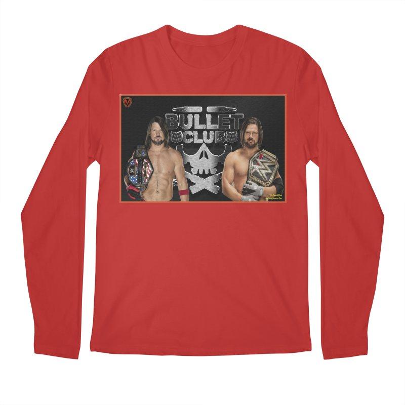 AJ Styles Men's Longsleeve T-Shirt by EvoComicsInc's Artist Shop