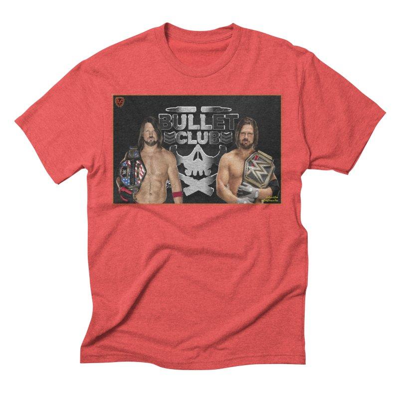 AJ Styles Men's Triblend T-shirt by EvoComicsInc's Artist Shop