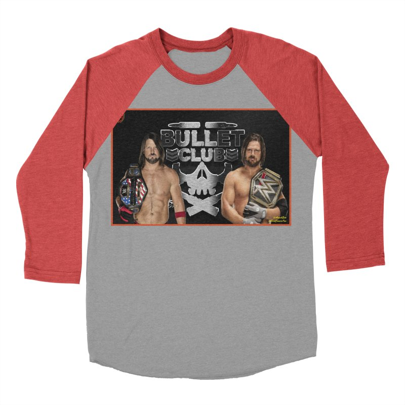 AJ Styles Women's Baseball Triblend T-Shirt by EvoComicsInc's Artist Shop