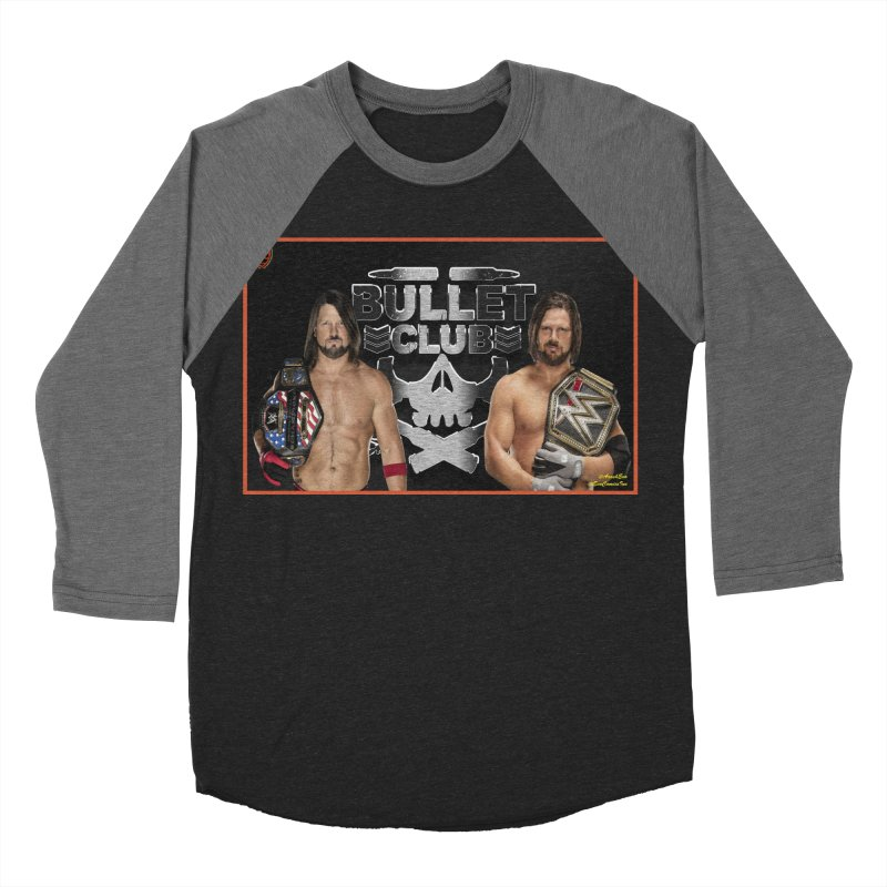 AJ Styles Men's Baseball Triblend T-Shirt by EvoComicsInc's Artist Shop