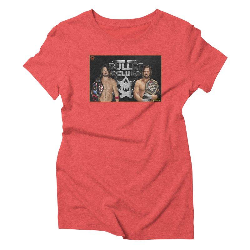 AJ Styles Women's Triblend T-Shirt by EvoComicsInc's Artist Shop