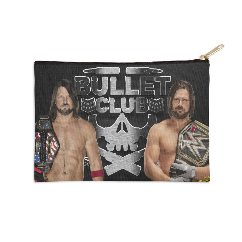 AJ Styles Accessories Zip Pouch by EvoComicsInc's Artist Shop