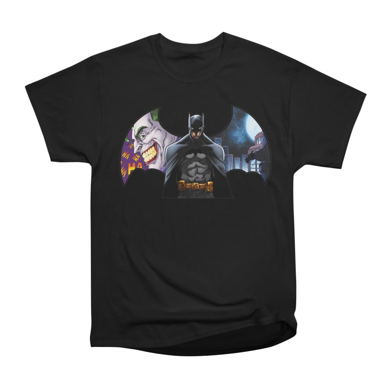 Batman Logo Women's Heavyweight Unisex T-Shirt by EvoComicsInc's Artist Shop