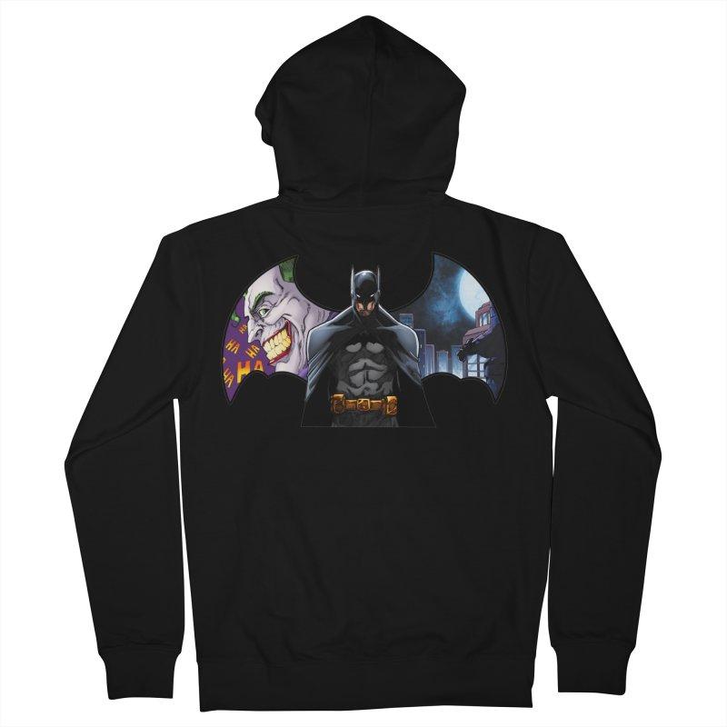 Batman Logo Women's Zip-Up Hoody by EvoComicsInc's Artist Shop