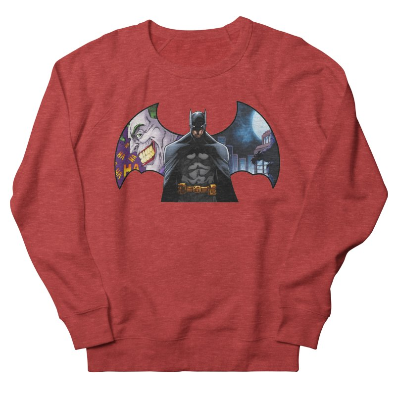 Batman Logo Women's Sweatshirt by EvoComicsInc's Artist Shop