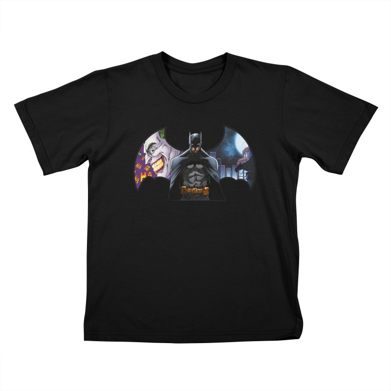 Batman Logo Kids T-Shirt by EvoComicsInc's Artist Shop