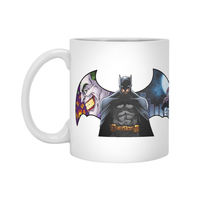 Batman Logo Accessories Mug by EvoComicsInc's Artist Shop