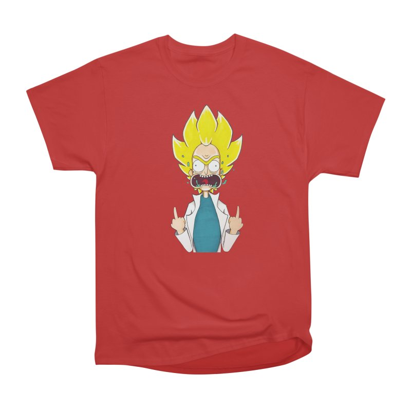 Super Sayan Rick Women's Classic Unisex T-Shirt by EvoComicsInc's Artist Shop