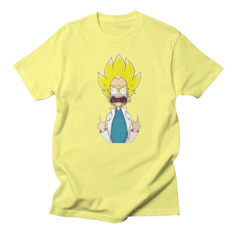 Super Sayan Rick Women's Unisex T-Shirt by EvoComicsInc's Artist Shop