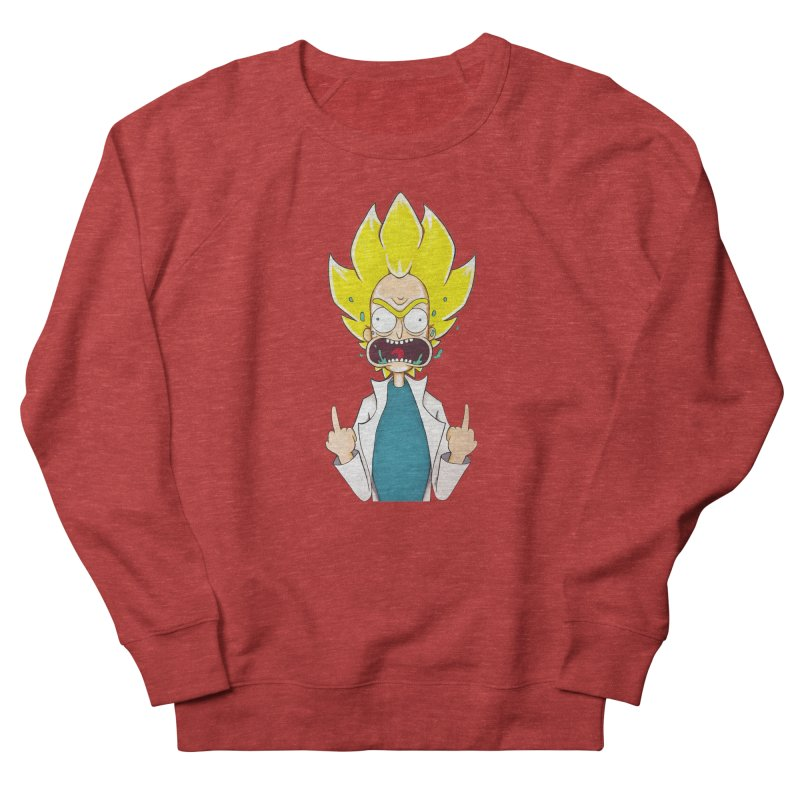 Super Sayan Rick Men's Sweatshirt by EvoComicsInc's Artist Shop