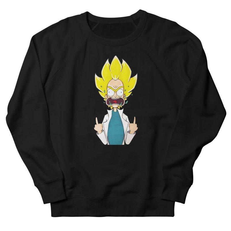 Super Sayan Rick Men's Sweatshirt by EvoComicsInc's Artist Shop