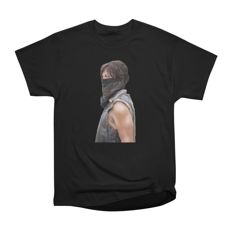 Daryl Dixon Bandanna Women's Heavyweight Unisex T-Shirt by EvoComicsInc's Artist Shop