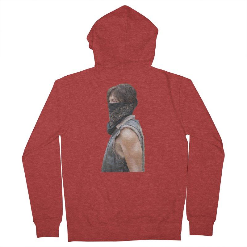 Daryl Dixon Bandanna Men's Zip-Up Hoody by EvoComicsInc's Artist Shop